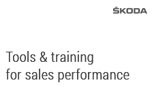 Tools & training for sales performance